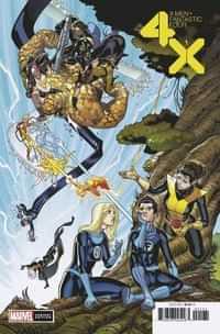 X-men Fantastic Four #1 Variant 50 Copy Garron