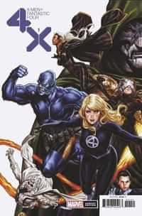 X-men Fantastic Four #1 Variant Brooks