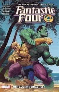Fantastic Four TP 2018 Thing Vs Immortal Hulk