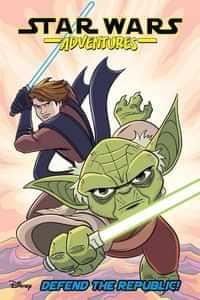 Star Wars Adventures TP Defend The Republic