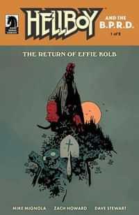 Hellboy and BPRD Return of Effie Kolb #1 CVR B Mignola