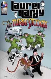 Laurel and Hardy Meet Three Stooges #1 CVR A Shanower