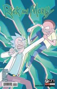 Rick and Morty #59 CVR A Ellerby
