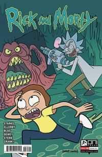 Rick and Morty #59 CVR B Mazzarello
