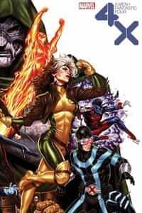 X-Men Fantastic Four #2 Variant Brooks