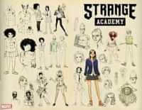 Strange Academy #1 Variant Ramos Design Wraparound