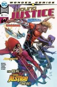 Young Justice #14 CVR A