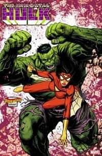 Immortal Hulk #32 Variant Zircher Spider-Woman
