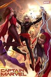 Captain Marvel #16 Variant Inhyuk Lee Connecting