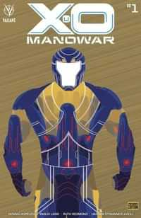 X-O Manowar #1 Variant 250 Copy Incv Bronze Var