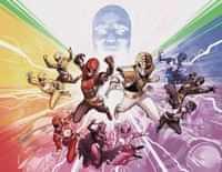 Mighty Morphin Power Rangers #50 CVR C Foil Wraparound