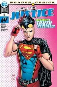 Young Justice #15 CVR A