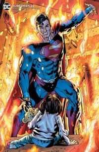 Superman #22 CVR B Bryan Hitch