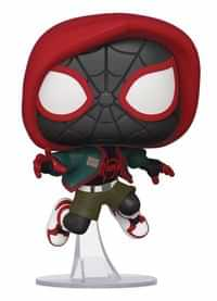Funko Pop Marvel Into Spiderverse Casual Miles Morales PX