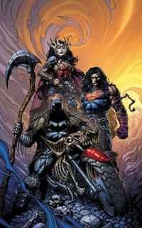 Dark Nights Death Metal #1 CVR B Finch Batman
