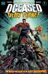 DCeased Dead Planet #1 CVR A