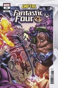 Fantastic Four #21 Variant Zircher Confrontation