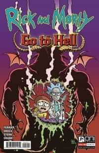 Rick And Morty Go To Hell #2 CVR B Crosland