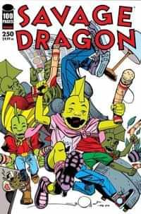Savage Dragon #250 CVR D Simonson