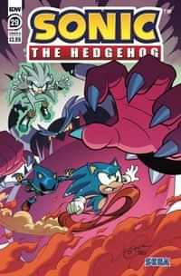 Sonic The Hedgehog #29 CVR A Lawrence