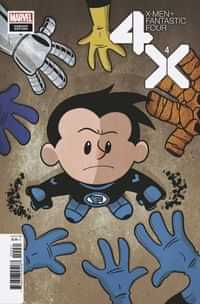 X-men Fantastic Four #4 Variant Eliopoulos