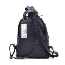 Γυναικεία Τσάντα Backpack Hunter 54001616 Μαύρο EcoLeather image 2