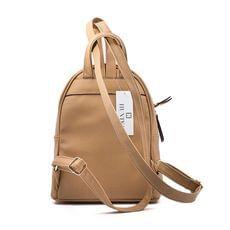 Γυναικεία Τσάντα Backpack Hunter 54001717 Μπεζ EcoLeather image 2