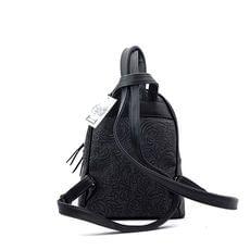 Γυναικεία Τσάντα Backpack Hunter 54001794 Μαύρο EcoLeather image 2