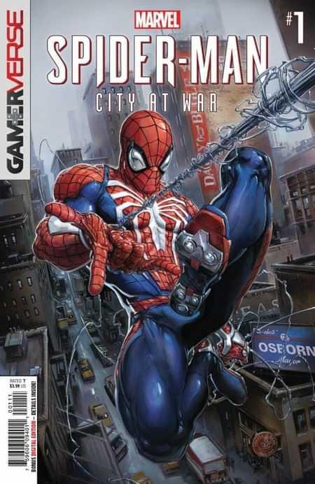 MARVELS SPIDER-MAN CITY AT WAR  #2 MARVEL COMICS FEB190855