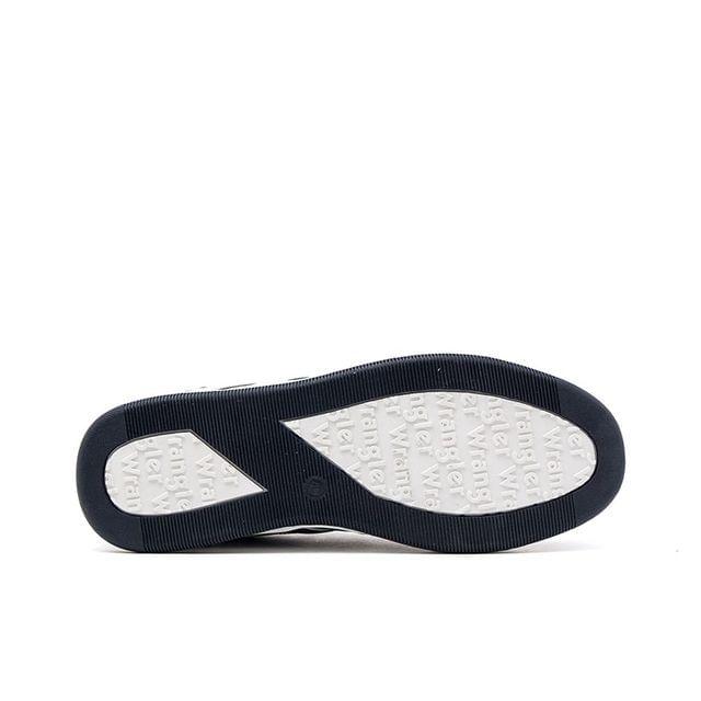 Ανδρικά Sneakers Wrangler 91041A Μπλε EcoLeather image - 4