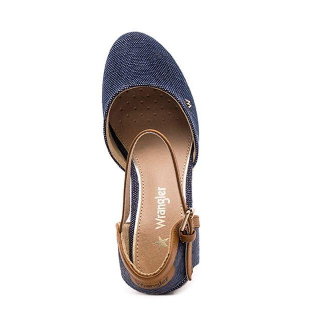 Γυναίκειες Εσπαντρίγιες Wrangler 91570A Μπλε Ύφασμα image - 1