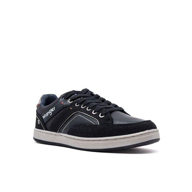 Ανδρικά Sneakers Wrangler 91040A Μαύρο EcoLeather image - 2