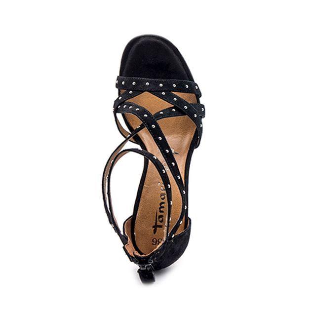 Γυναικεία Πέδιλα Tamaris 28357 Μαύρο Δέρμα image - 1