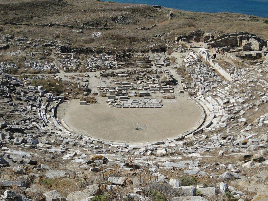 Visita a Delos desde Mykonos