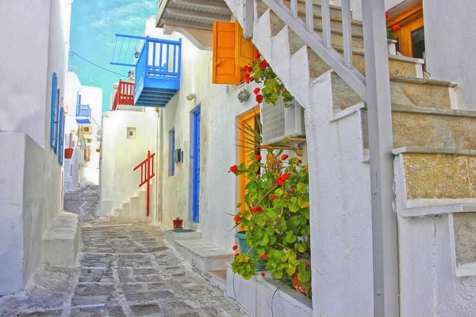 Visita Mykonos Chora & Playas