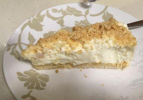 עוגת גבינת פירורים