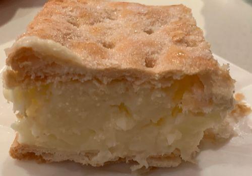 עוגת קרם שניט (נפוליאון) - קלה להכנה