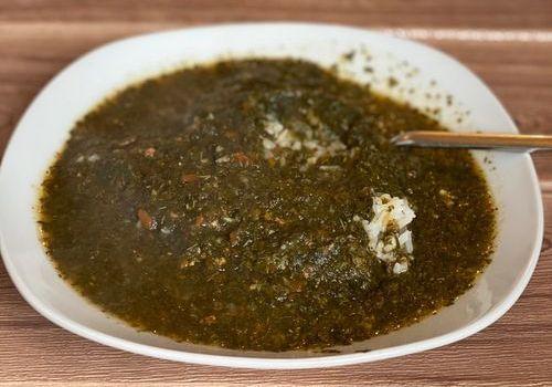 מלוחיה - מרק מהמטבח המצרי עם בשר בקר