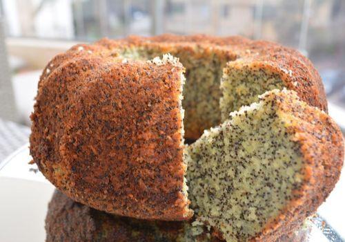 עוגת פרג בחושה ועסיסית קלה להכנה מומלץ!