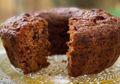 עוגת גזר בחושה עסיסית בריאה קלה להכנה