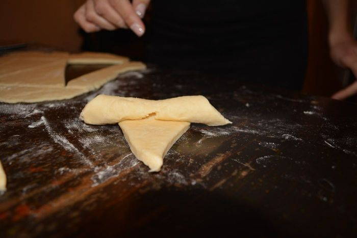 קרואסון גבינה מלוחה