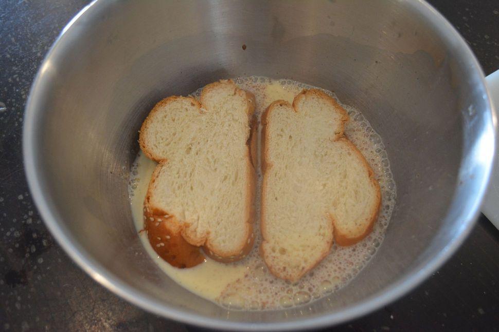 פרנץ' טוסט - לחם מטוגן