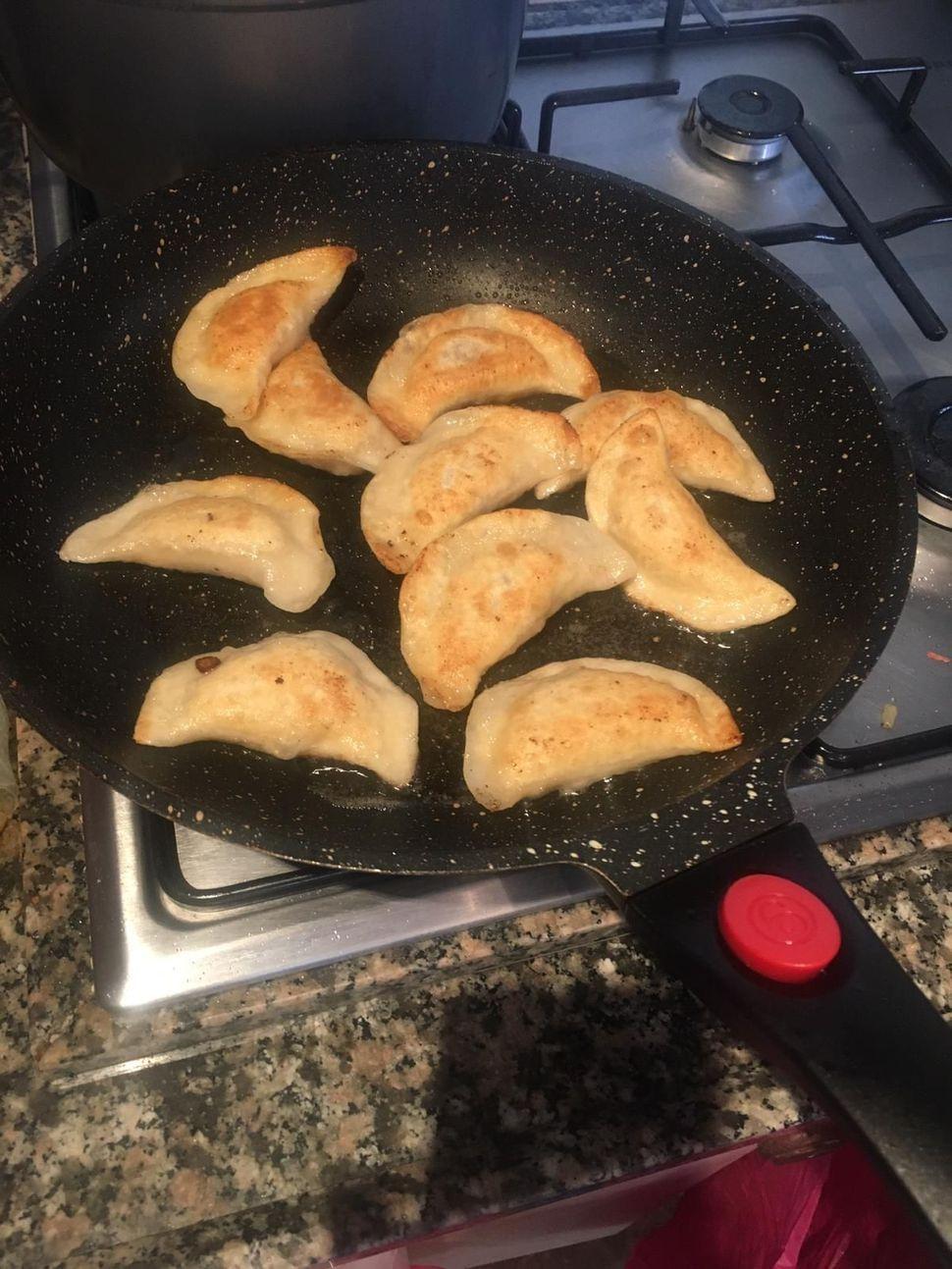 קרפלך במילוי תפוחי אדמה / בשר
