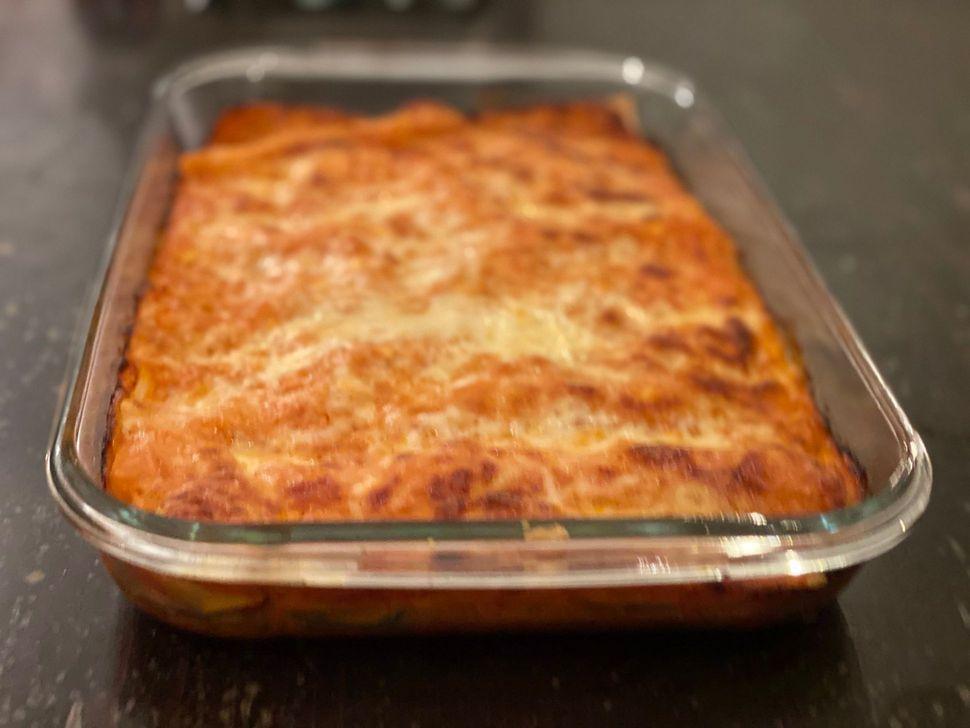 לזניה גבינות איטלקית קל להכנה שילדים אוהבים