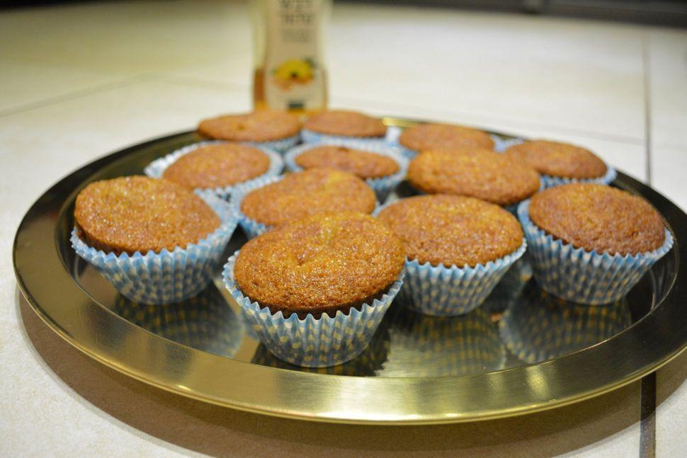 עוגת דבש / מאפינס דבש
