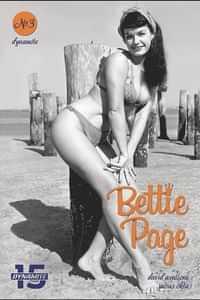 Bettie Page Unbound #3 CVR E Photo