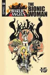 Charlies Angels Vs Bionic Woman #4 CVR B Mahfood