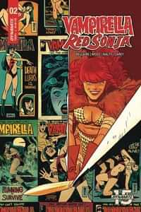 Vampirella Red Sonja #2 CVR D Romero and Bellaire