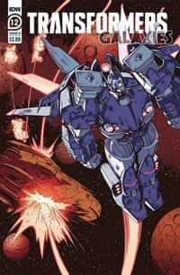 Transformers Galaxies #12 CVR B Roche