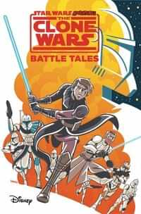 Star Wars Adventures Clone Wars TP Battle Tales